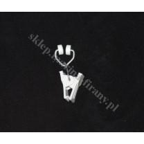 Żabka T plastikowa do starych szyn sufitowych aluminiowych - 100 szt