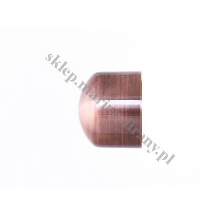 Zaślepka Gral fi 16 kolor miedzi (Para)