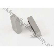 Zaślepka - zakończenie do profila Modern 40 inox (aluminium) - 1 para