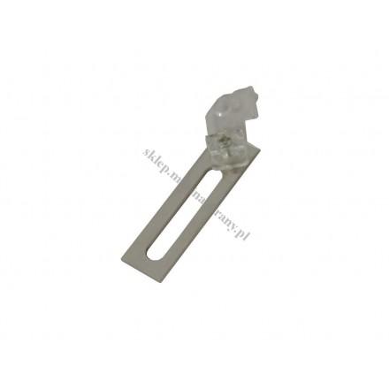 Uchwyt sufitowy pojedynczy MD do szyn sufitowych Gral 16 mm i 19 mm
