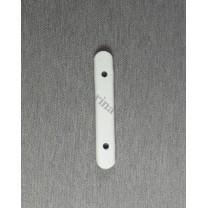 Obciążnik kieszonkowy ołowiany biały duży 50 g