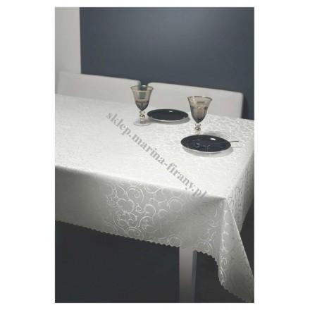 Obrus 022-3 plamoodporny biały