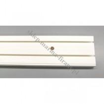 Szyna sufitowa dwutorowa biała 8384 - 250 cm