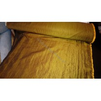 Tkanina zasłonowa Tafta kreszonana, szer. 140 cm, kolor złoto - brązowy- cena za 1 mb