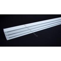 Szyna panelowa trzytorowa biała – (SUW0062)