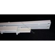 Szyna panelowa dwutorowa biała – (SUW0060)