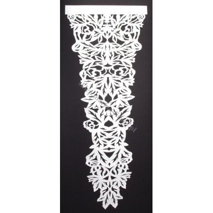 Panel ażurowy - Listki PZ046