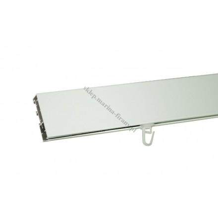 Profil szynowy Modern 60 dł. 150 cm - biały (aluminium)