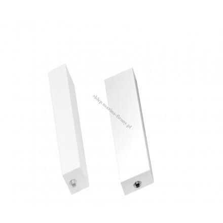 Zaślepka - zakończenie do profila Modern 60 biała (aluminium) - 1 para