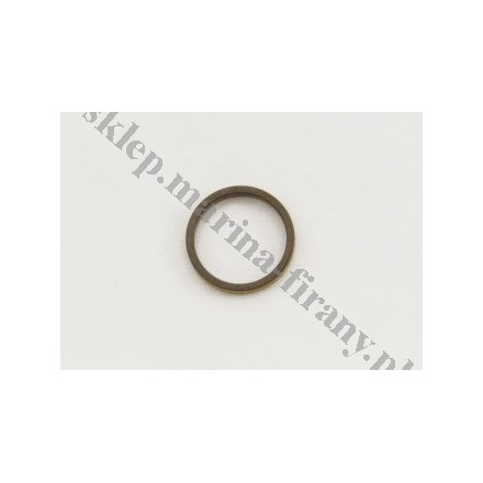 Kółko płaskie do mini karniszy 12 mm antico (10 szt) - mosiądz