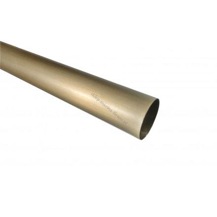 Drążek - rura karnisza fi 20 mm dł. 150 cm - jasne antico (mosiądz)