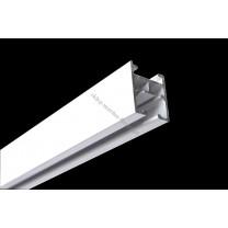 Profil szynowy Modern 25 biały - 200 cm