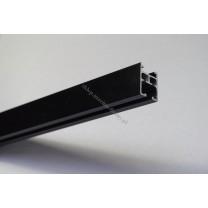 Profil szynowy Modern 25 czarny matowy -150 cm