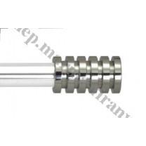 Końcówka do profilu - rury 20 mm Radiator - inox poler (stal nierdzewna) - 1 szt