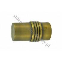 Końcówka Gral fi 16 antyk - Cylinder (Para)