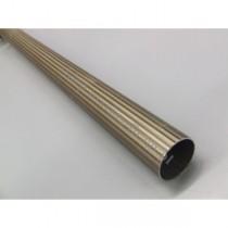 Drążek ryflowany Gral fi 25 antyk - 160cm