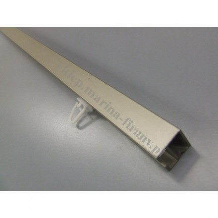 Profil Kwadro chrom mat - 140cm