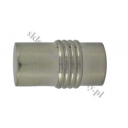 Końcówka Gral fi 19 efekt stali - Cylinder