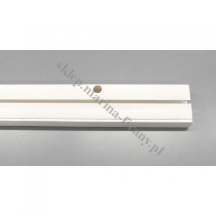 Szyna sufitowa jednotorowa biała - 210 cm