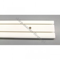 Szyna sufitowa dwutorowa biała 8383 - 210 cm