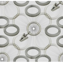 Kółka, haczyki fi 16 mm w kolorze chrom mat