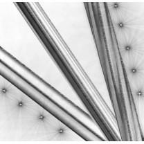 Drążki i profile fi 16 mm w kolorze efekt stali